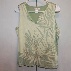 Tommy Bahama Women's Medium Silk Blend Tank Top